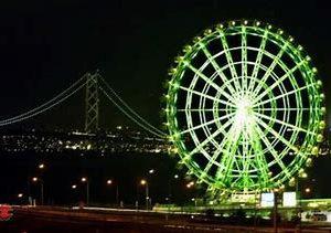 大阪gardenのサプライズプロポーズ 淡路サービスエリア大観覧車