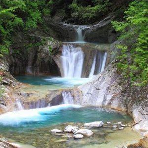 大阪gardenのサプライズプロポーズ 七ツ釜五段の滝