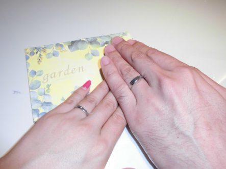 素敵な指輪に!!