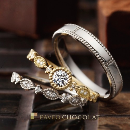 PAVEO CHOCOLAT 。*・ K10誕生石ネックレスプレゼント♪ ~11/9まで!