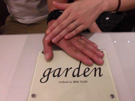 親切で素敵な指輪を選べました