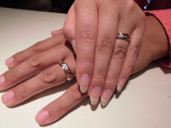 こだわりの結婚指輪を
