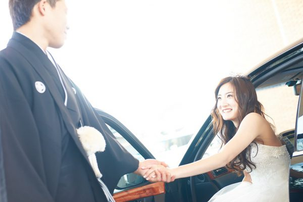 袴とドレスでの組み合わせ