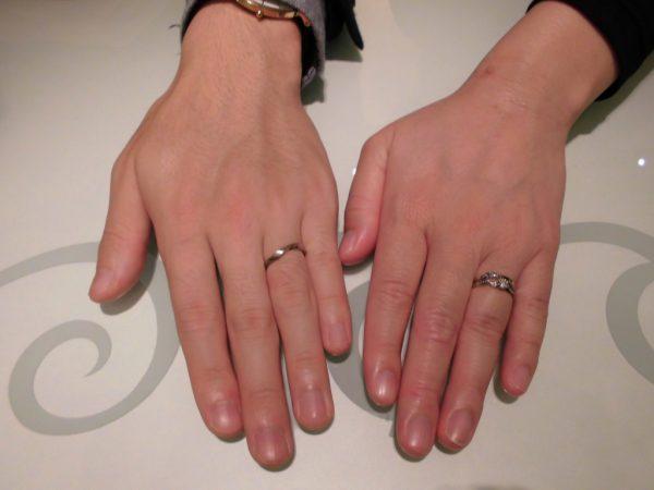 指輪選び楽しかったです