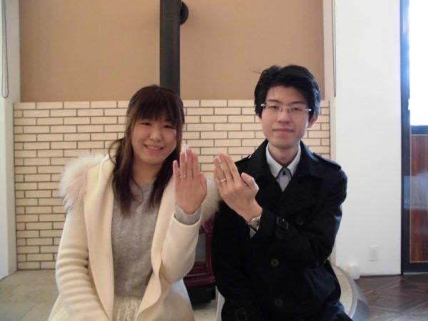 【大阪・和泉市】ラムレートの結婚指輪