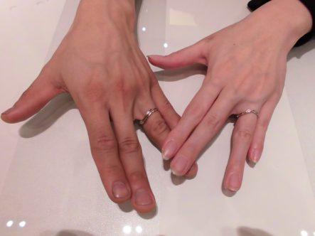 【大阪・泉佐野市】マシェリの結婚指輪