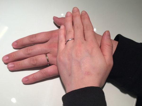 大阪府東大阪市 RosettEの結婚指輪