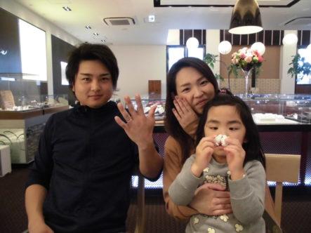 大阪府 堺市東区 結婚指輪はPulito