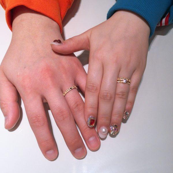 大阪府 ORECCHIOの結婚指輪