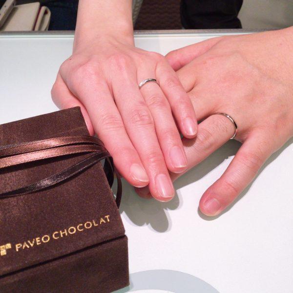 大阪府 PAVEO CHOCOLATの結婚指輪