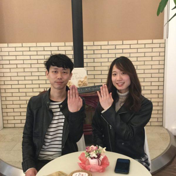 大阪府岸和田市 ORECCHIOの指輪