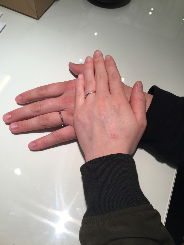 大阪結婚指輪ロゼット