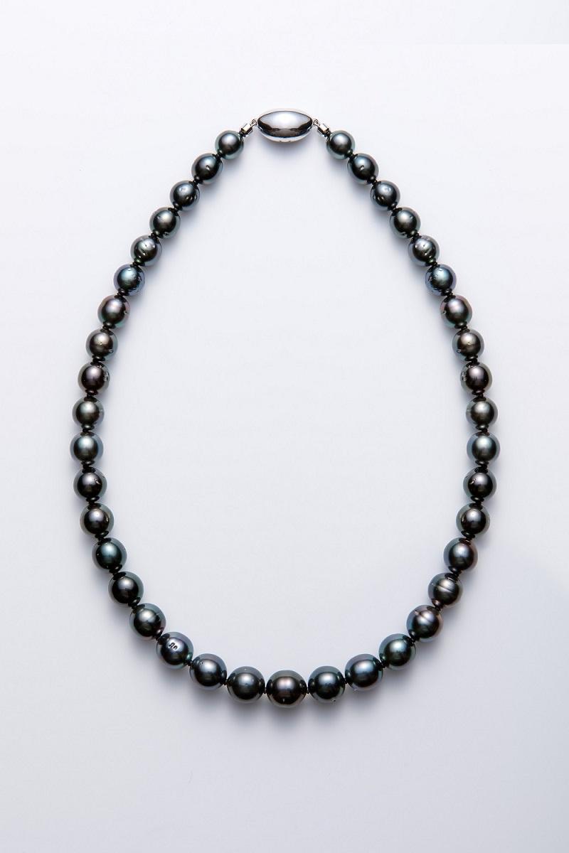 南洋黒真珠ネックレス(パール)