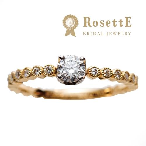 和歌山で婚約指輪オススメアンティークブランドrosette