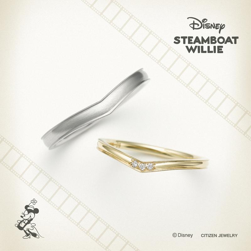 Disneyミッキーの結婚指輪