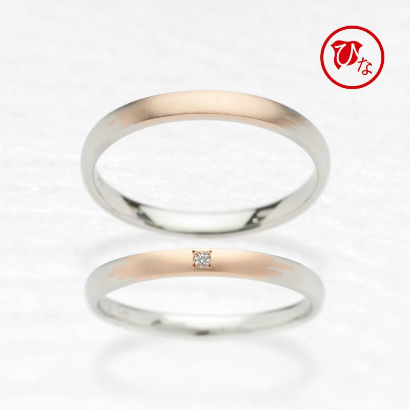 アンティーク調の結婚指輪で和ブランドひなのかき氷