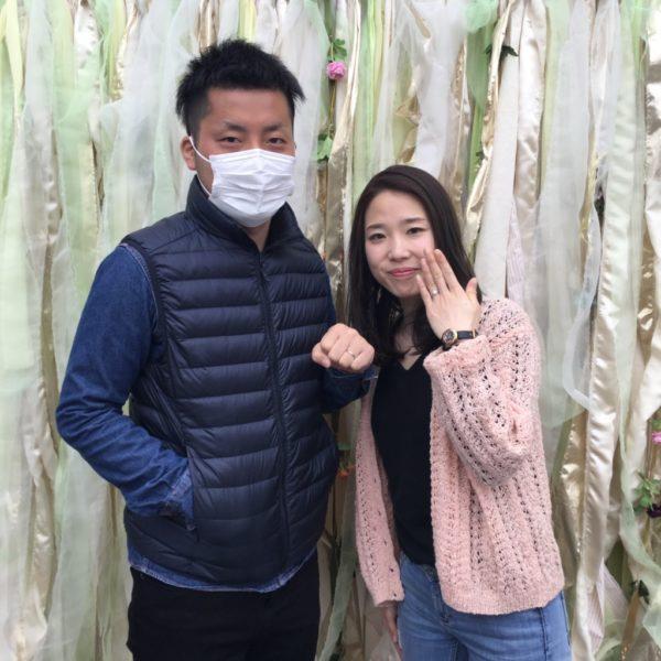 大阪府堺市北区  gardenオリジナルの婚約指輪