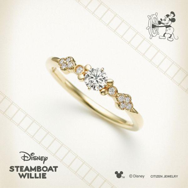ディズニー婚約指輪大阪エンゲージリングミッキー指輪ディズニープロポーズ