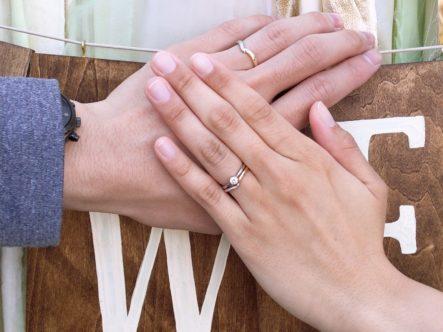 大阪府岸和田市  D.Terraceの結婚指輪