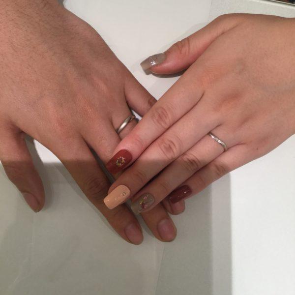 大阪府和泉市  PassageとPulitoの結婚指輪
