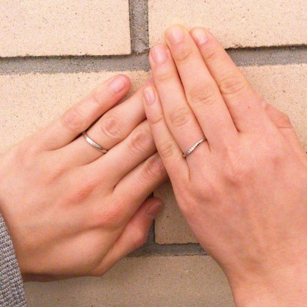 自分たちにぴったりな指輪が選べます