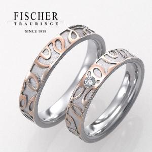 FISCHERフィッシャーのコンビリングの結婚指輪で大阪・岸和田・和歌山の正規取扱店3