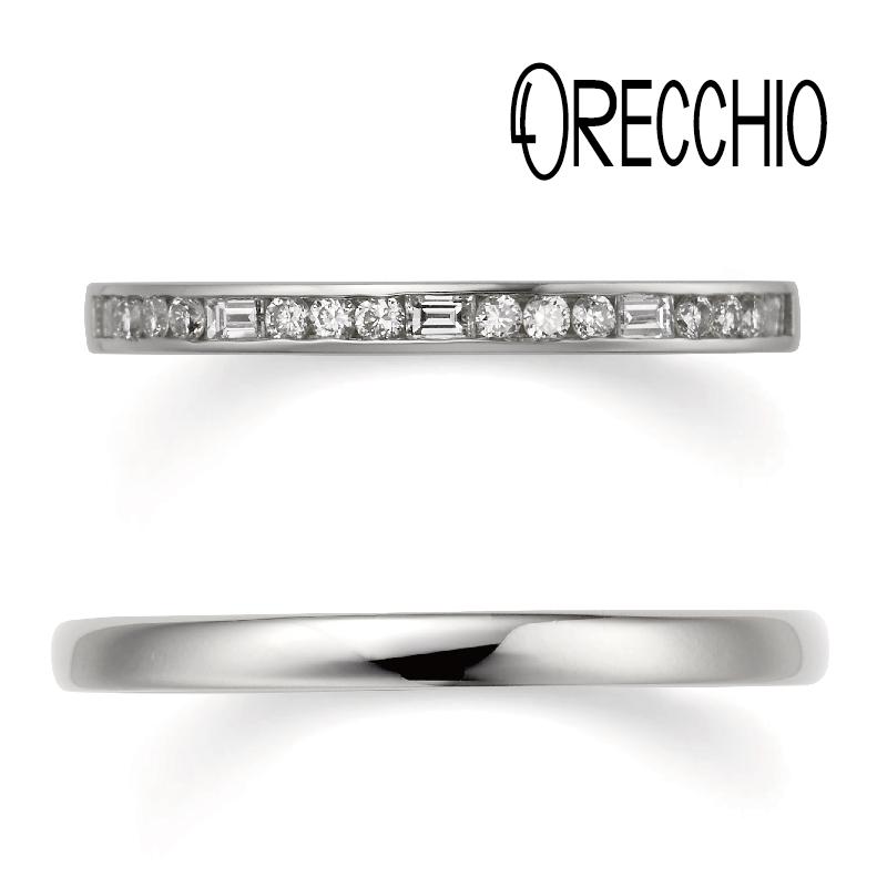 ORECCHIO(オレッキオ)結婚指輪