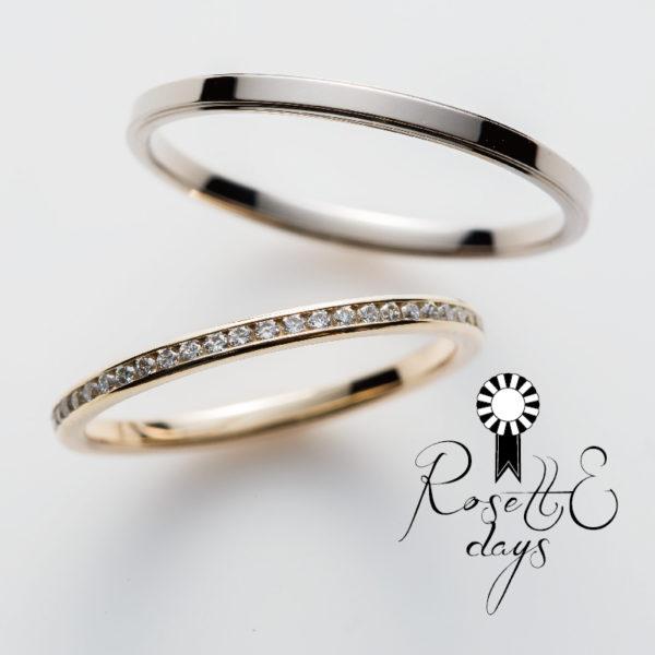 華奢な鍛造指輪