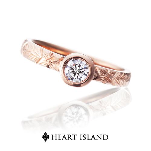 ハートアイランドの婚約指輪