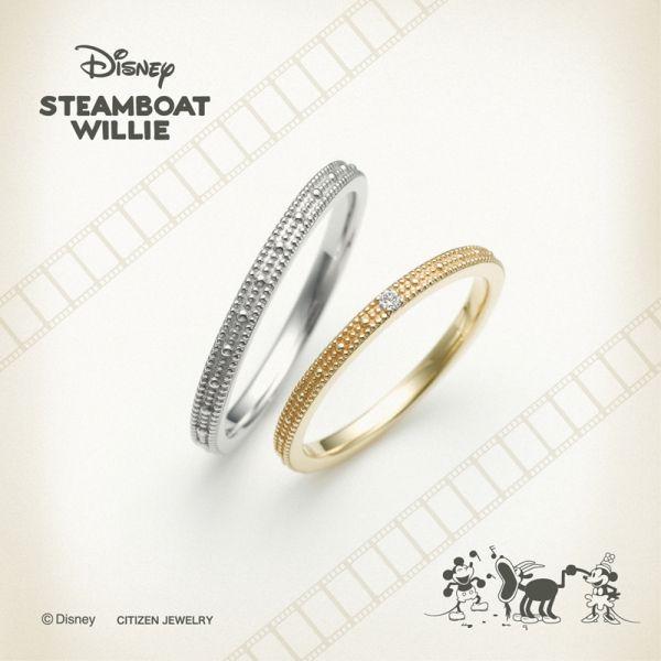 ディズニー結婚指輪マリッジリングミッキー