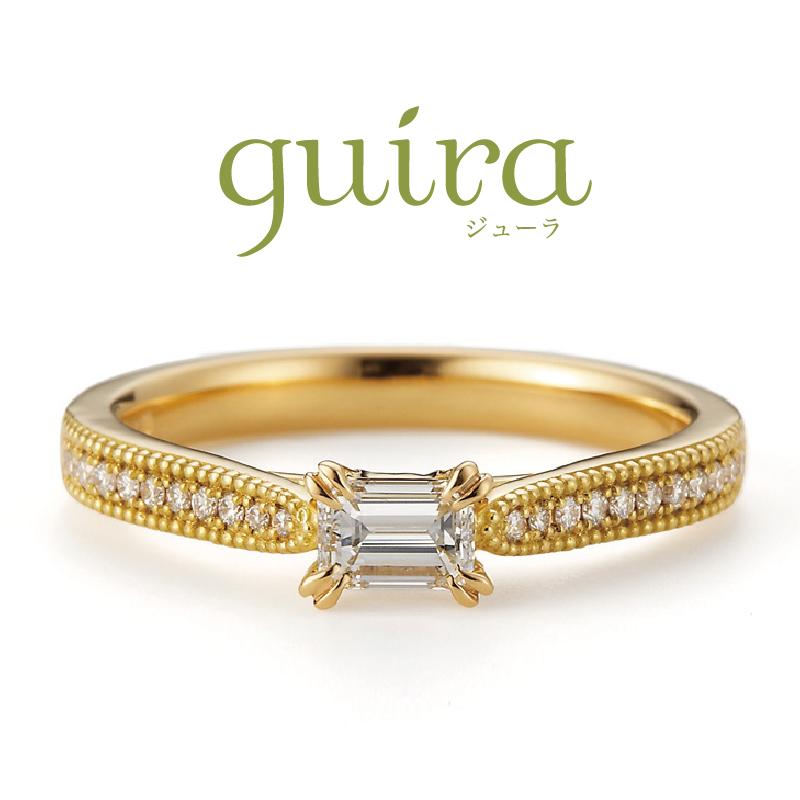 アンティーク調の婚約指輪ブランドguiraのフランキンセンス