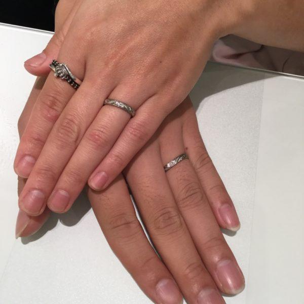 ハワイアンジュエリー 泉大津市 カフナの結婚指輪