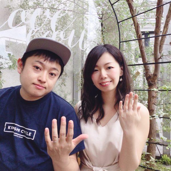大阪 忠岡町 結婚指輪(マリッジリング)