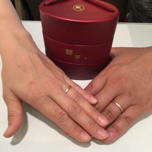 大阪府泉佐野市  ひなの結婚指輪