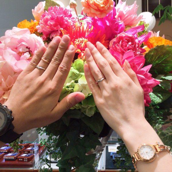 大阪府泉南郡熊取町  Lapageの結婚指輪