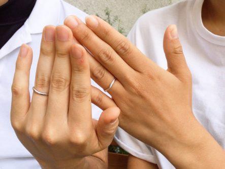 大阪府岸和田市  Pulitoの結婚指輪