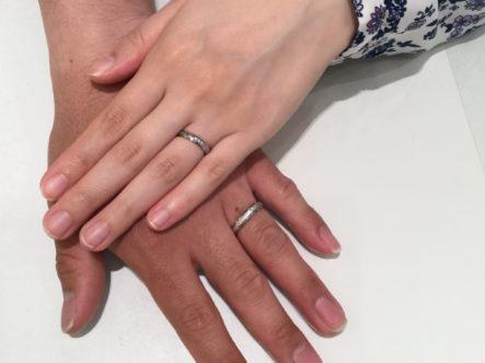 大阪府泉北郡忠岡町 FISCHERの結婚指輪