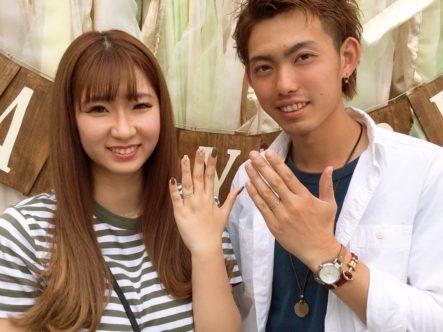 大阪府岸和田市  GRAMAの結婚指輪