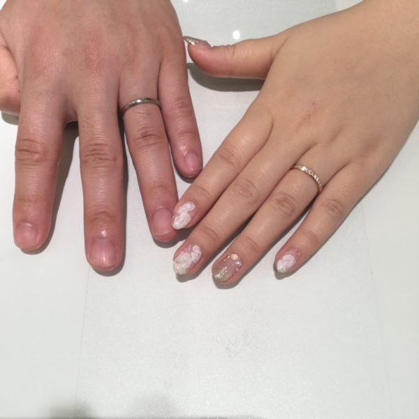 大阪市東住吉区 BRIDGEの結婚指輪