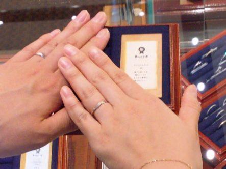大阪府堺市東区 RosettEの結婚指輪