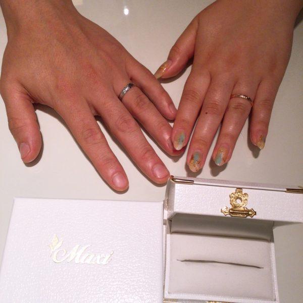 大阪府岸和田市 Maxiの結婚指輪
