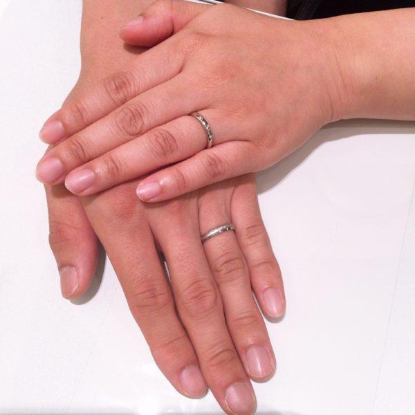 大阪府狭山市 FISCHERとRosettEの結婚指輪