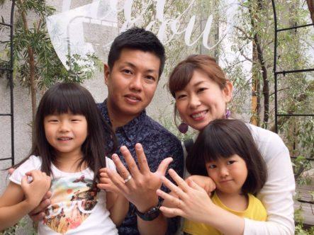大阪府堺市南区 Maxiの結婚指輪