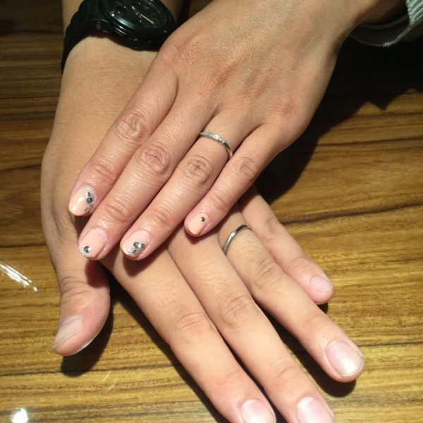 大阪府和泉市 LIAISONの結婚指輪