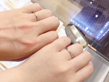 大阪府泉南市 AMOUR AMULETの結婚指輪