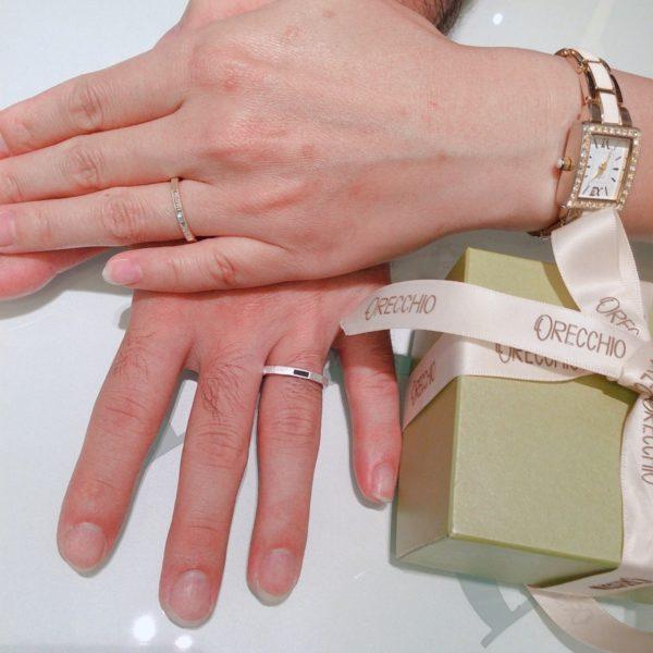 オレッキオの結婚指輪 大阪和泉市