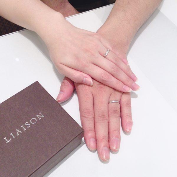 堺市西区 リエゾンの結婚指輪