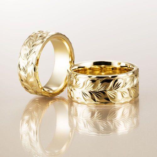 マカナMakanaの結婚指輪でフラットタイプの幅広