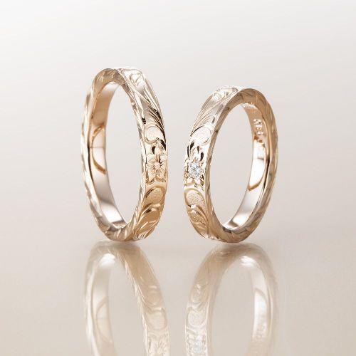 マカナMakanaの結婚指輪でスリムタイプのPG