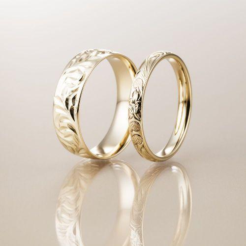 マカナMakanaの結婚指輪でK14シリーズの幅違い